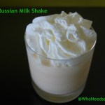 White Russian Milk Shake