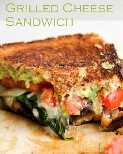 Grown-Up Grilled Cheese Sandwiches Recipe — Dishmaps