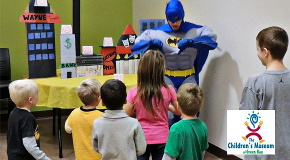 batman-birthday-party-at-the-Chidren's-Museum-of-Green-Bay