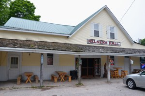 Nelsen's Hall is a great place to catch a bite and a drink or two.