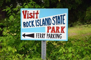 Rock Island is only one ferry ride away from Washington Island.
