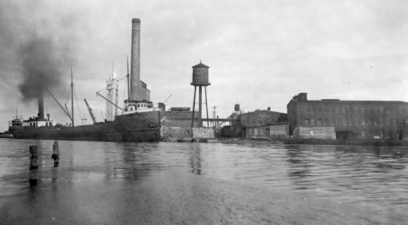 Northern-Paper Mill - Green Bay, Image Courtesy of Wisconsin Historical Society
