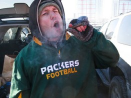 Tough Guy Packers Fan