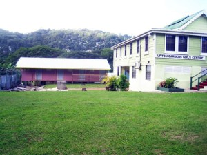 A newly constructed dormitory for the girls' school.