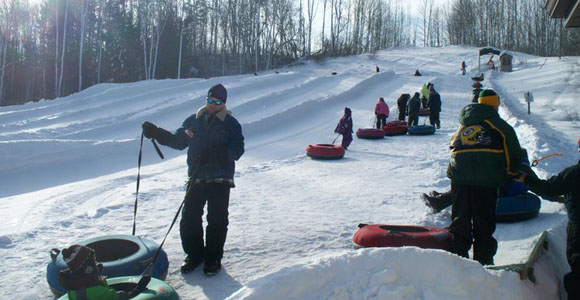 Tubing Hills at Winter Park