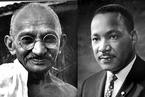 Gandhi and MLK Jr.