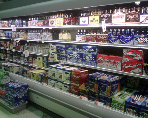 beer-at-grocery-store