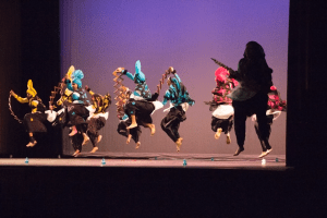 Husky Bhangra performs at UConn Asian Nite 2015, an event which took place on Saturday, Feb. 21, 2015. (Photo by Ryan Thibodeau)