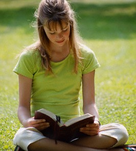 young teen and bible.1