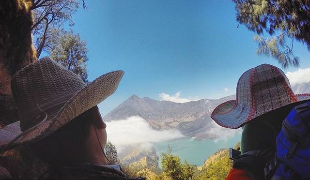 One of the 'Been there, done that' moment.  Let's plan for next year's. #Lombok #Rinjani