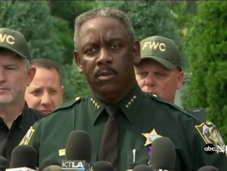 ABC News Orlando Police chief Jerry Demings speaks to the media, June 15, 2016, about a body found believed to be that of a 2yr-old boy dragged into a lake by an alligator at a Disney resort.