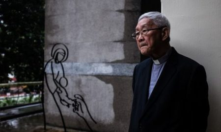 Cardinal Joseph Zen, a former bishop of Hong Kong, says most supporters of the potential Vatican deal do not truly know China. Photograph: Benjamin Haas for the Guardian