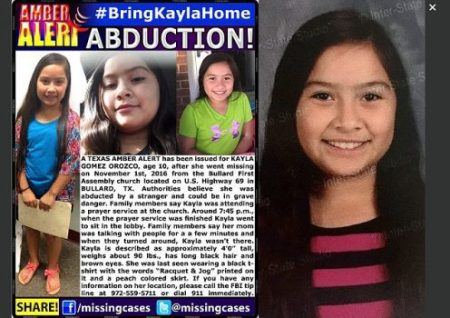 Social media has been alive with appeals to find Kayla (pictured