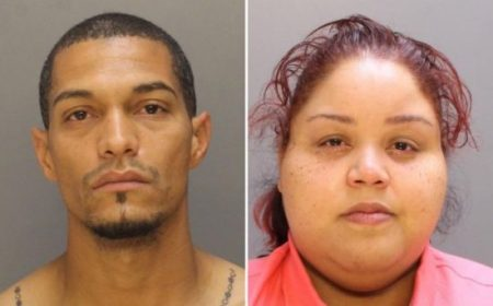 Omar Laboy-Vega and Rachel Santiago have both been charged in connection with the shooting of a 2-year-old. (Philadelphia Police Department)