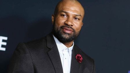 """FILE – In this March 29, 2016, file photo, Derek Fisher attends the LA Premiere of """"Meet the Blacks"""" held at ArcLight Hollywood in Los Angeles. (AP)"""