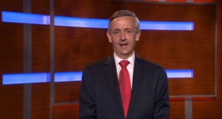 (Photo: Screencap via PTV)Pastor Robert Jeffress of First Baptist Church in Dallas speaking in a video posted on June 12, 2016.