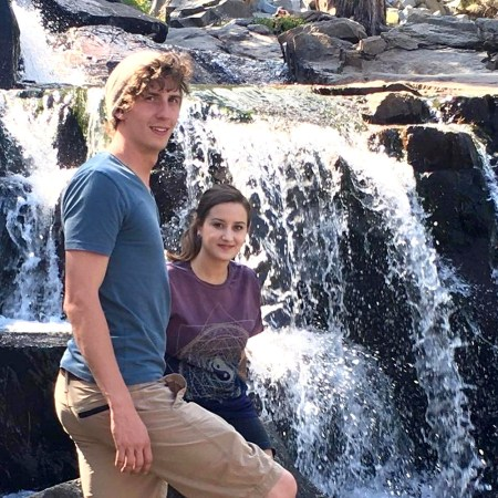 Andrew Pasek and his girlfriend, Allie COURTESY PASEK FAMILY