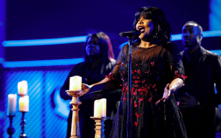 CeCe Winans won Gospel Artist of the Year at the 2017 Gospel Music Association Dove Awards. Courtesy Photo.