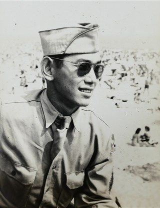 Ted Tsukiyama served in World War II with the U.S. Army's 442nd Regimental Combat Team before being reassigned to the Military Intelligence Service in India and Burma. Courtesy Of Ted Tsukiyama