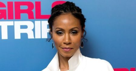 LONDON, ENGLAND - JULY 25: Jada Pinkett Smith attends a special screening of Girls Trip at the Soho Hotel on July 25, 2017 in London, England. (Photo by Ian Gavan/Getty Images for Universal Pictures)