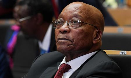 Jacob Zuma is expected to face a no-confidence vote in parliament if he does not stand down. Photograph: Simon Maina/AFP/Getty Images
