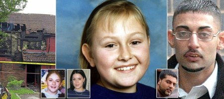 As many as 1,000 girls, some as young as 11, in the town of Telford, Shropshire, were drugged, beaten and raped at the hands of a grooming gang active since the 1980s. A mother and four teenage girls have been linked to the allegations of abuse. Lucy Lowe, 16 (pictured centre), died alongside her mother and sister after the man who had been abusing her, 26-year-old Azhar Ali Mehmood, set fire to their house (pictured left). The taxi-driver first targeted Lucy in 1997. She gave birth to his child when she was just 14. Vicky Round (inset left) was just 20 when she died of a suspected overdose. She had been forced into crack cocaine and heroin addiction by her abusers. Becky Watson (inset far left) suffered two years of sex abuse at the hands of a grooming gang, which began when she was 11. Mubarek Ali, 34, (pictured inset right) and his brother Ahdel Ali, 27 (pictured right), both from Telford, were both jailed after sexually abusing young girls as part of a child sex abuse ring in the town.