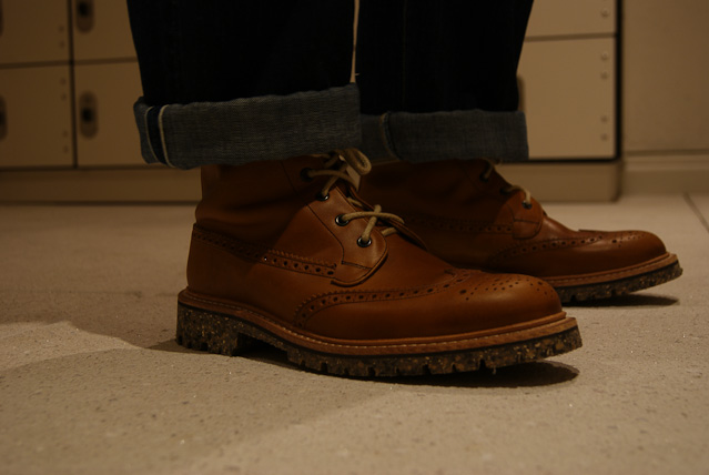 churchs boots Brilliant Steez: Flat Heads with a Speckled sole