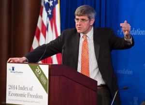 Stephen Moore. Credit: Willis Bretz/Heritage Foundation
