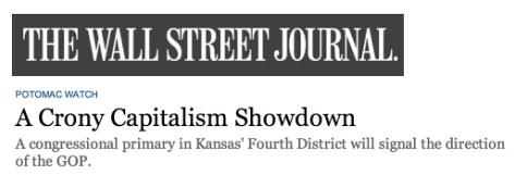 A Crony Capitalist Showdown