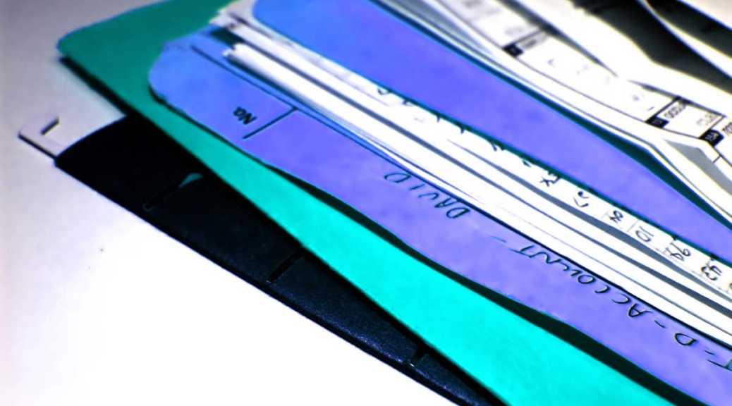 Business records file folders