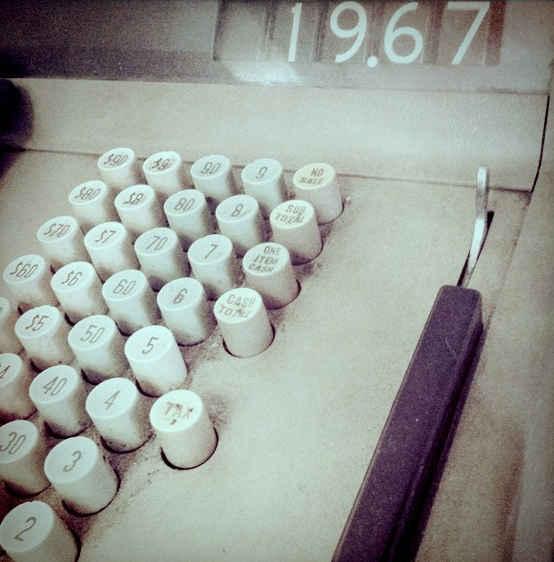 Cash register old