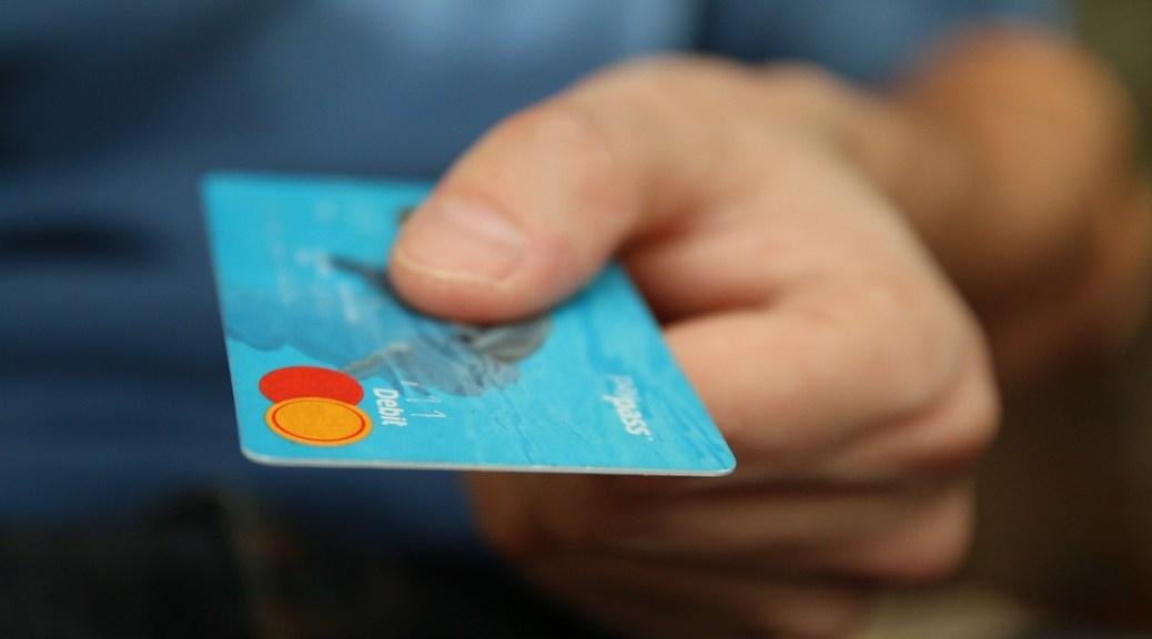 Hand credit card debt