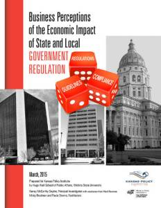 Business Perceptions of the Economic Impact of State and Local Government Regulation cover