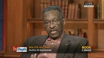 Walter Williams on C-SPAN, November 1, 2015