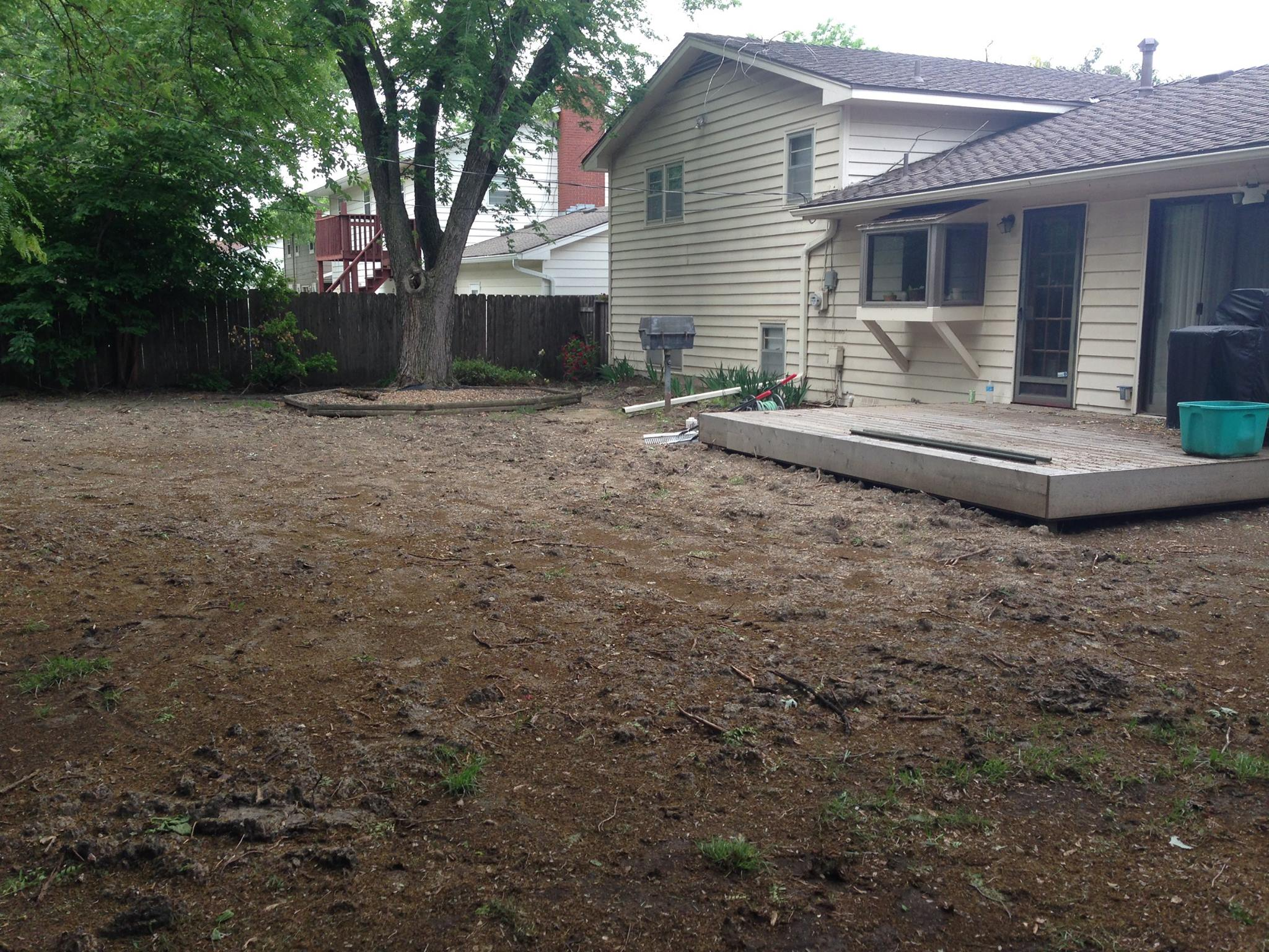 Fullsize Of How To Grade A Yard