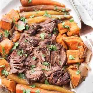 Slow Cooker Pot Roast | http://www.wickedspatula.com