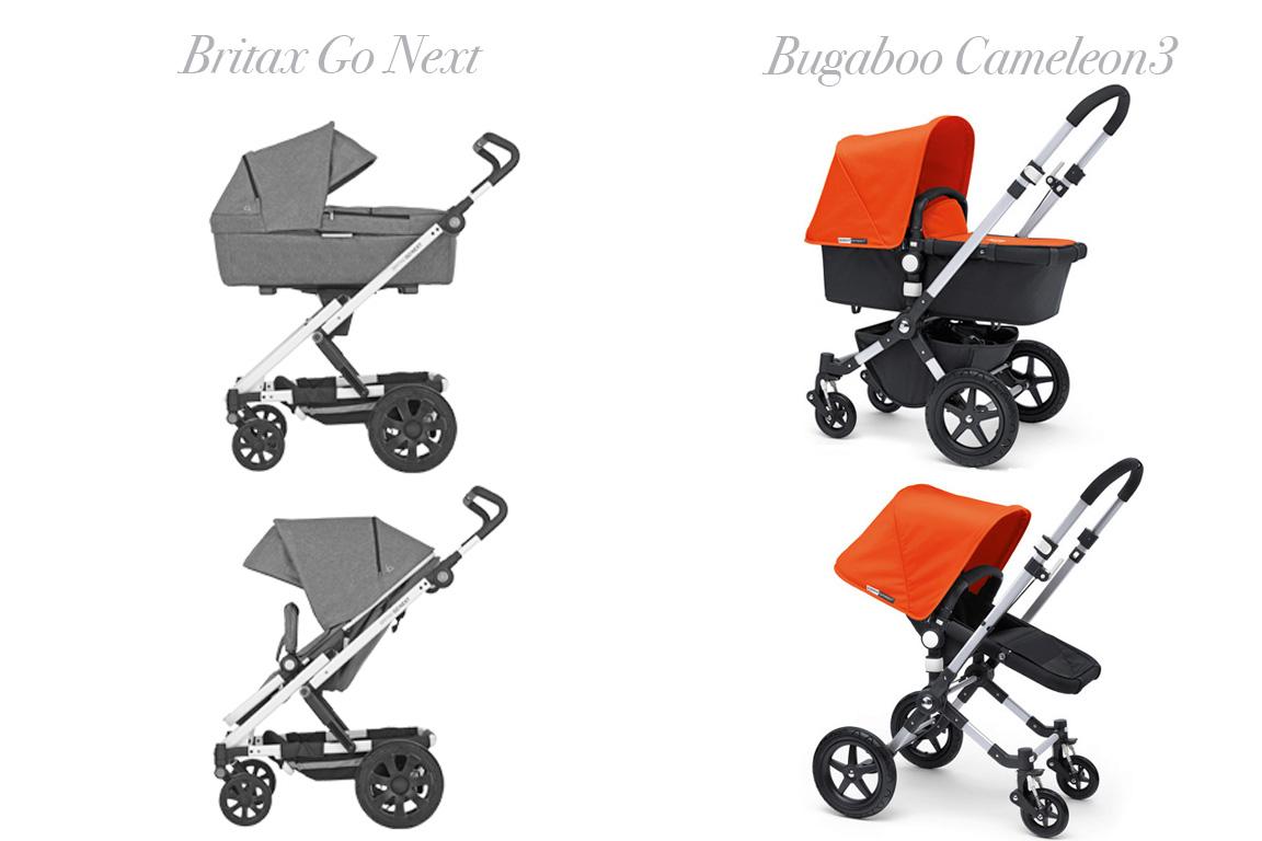 kinderwagen vergleich brio go britax go next vs bugaboo cameleon3. Black Bedroom Furniture Sets. Home Design Ideas