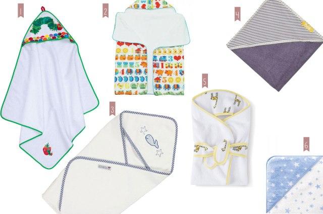 Kapuzenhandtücher für Babys