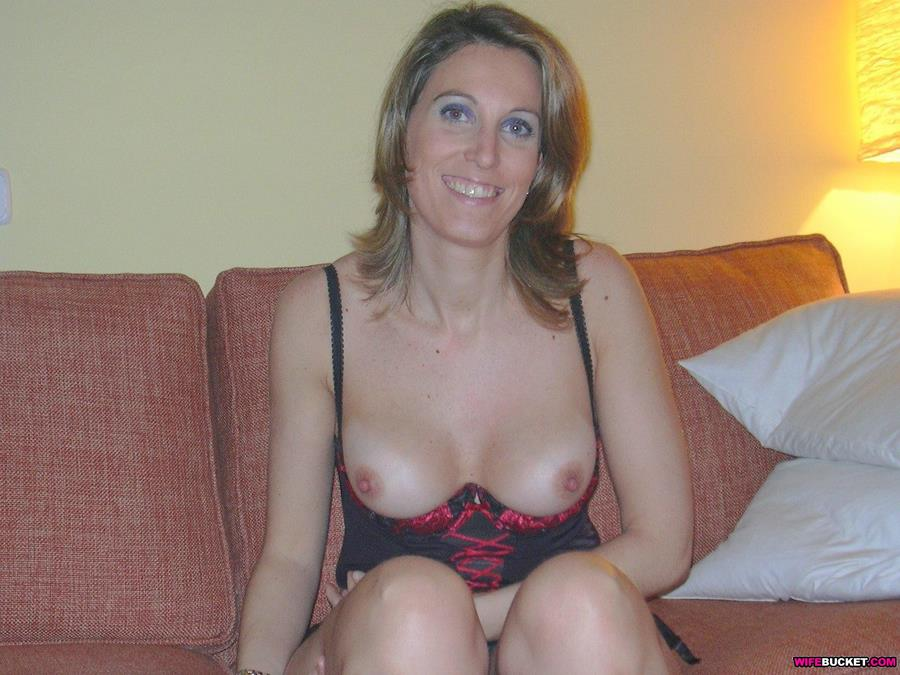 nude wife lingerie