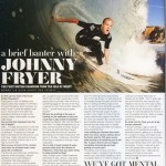 Sixty Seconds with Johnny Fryer