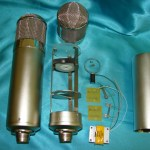 Neumann U47 DIY tube microphone kit