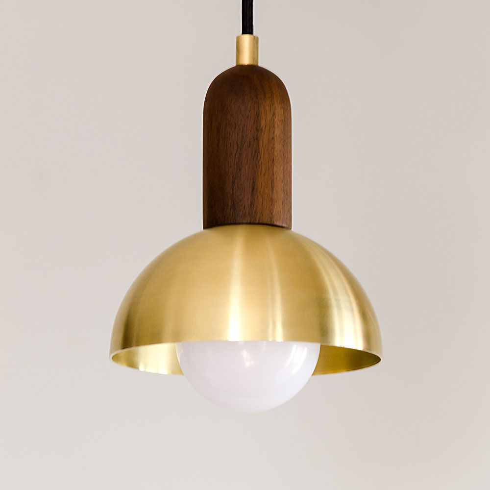 Fullsize Of Brass Pendant Light