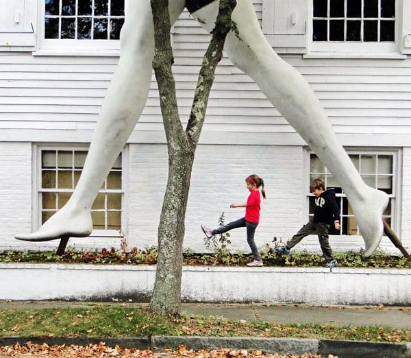 legs sculpture