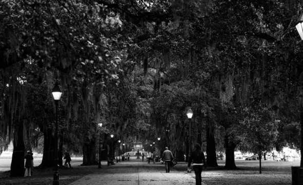 forsyth park walkway