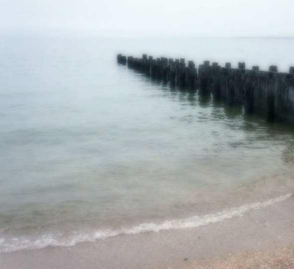 pier Alberts Landing Beach Amagansett
