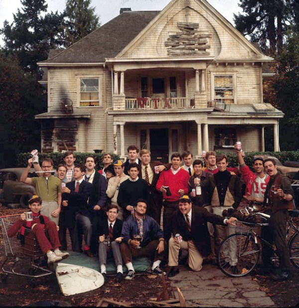"Faber College from ""National Lampoon's Animal House"" - It would be easy to blame a single fraternity or even the poorly managed fraternity system for this college campus' low online university rating. Not that there isn't blame to go around when you realize that in one fraternity alone, the highest single semester GPA tops out at 1.6, an academic achievement that would put this college just below the school that Supercuts employees attend to get their masters in hair collecting.A larger problem lies within its hallowed halls, one that reeks of politics and corruption. They don't just use monies from student funds as ""honorariums"" to bribe local officials or let sons of benefactors run the fraternity row. They railroad a perfectly innocent group of smart and articulate (albeit sometimes sober) students and ruin their educations in the process in the name of continuing tradition, even in the face of change."
