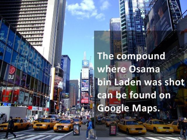 Google Maps Is More Useful and Interesting Than You Know (25 pics) wildammo (1)