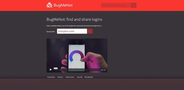 Bugmenot.com - Instead of creating new logins to every website you visit, use BugMeNot's thousands of shared logins. Simply enter your url, and you are off.