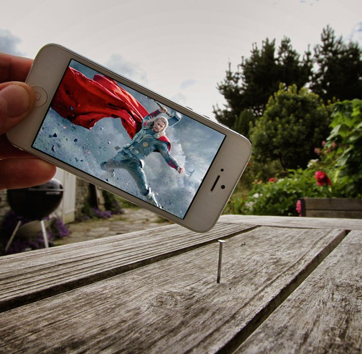 I Insert Movie Scenes Into Real Life Situations Using My Iphone  (2)