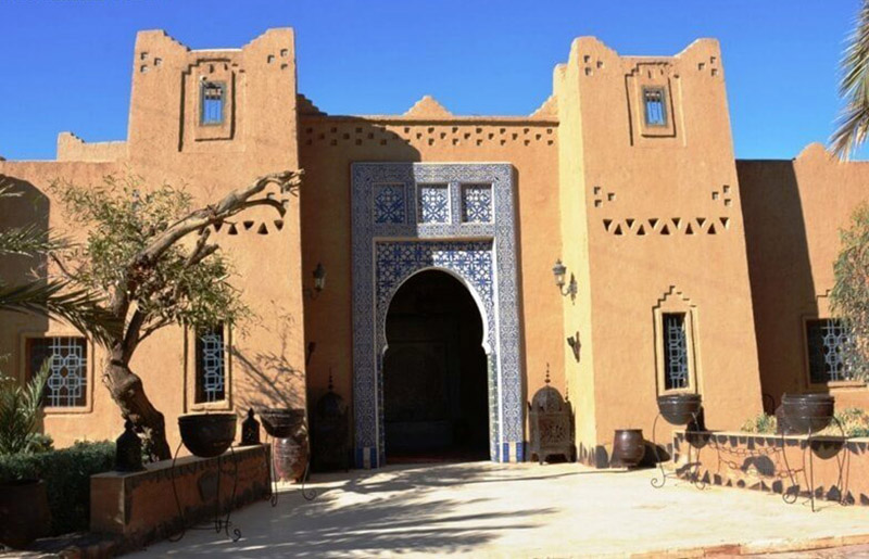 Traditional Moroccan Kasbah, continuously lived in for centuries!